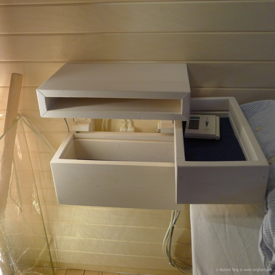 Chest of swingable drawers - 3