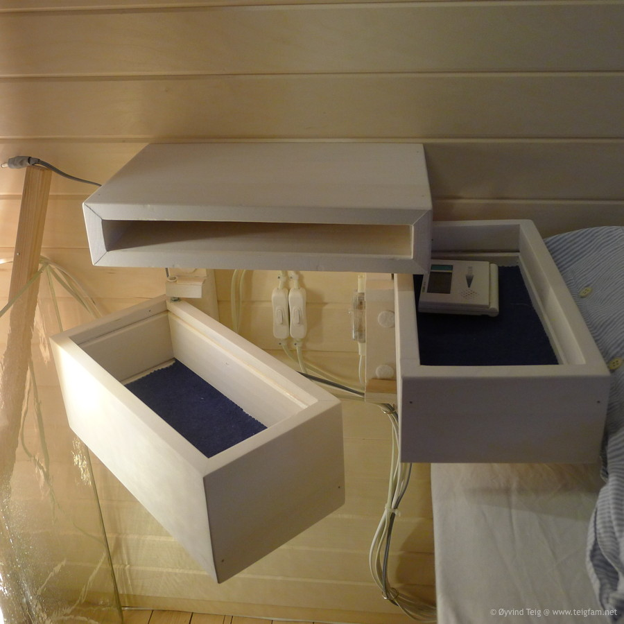Chest of swingable drawers - 4