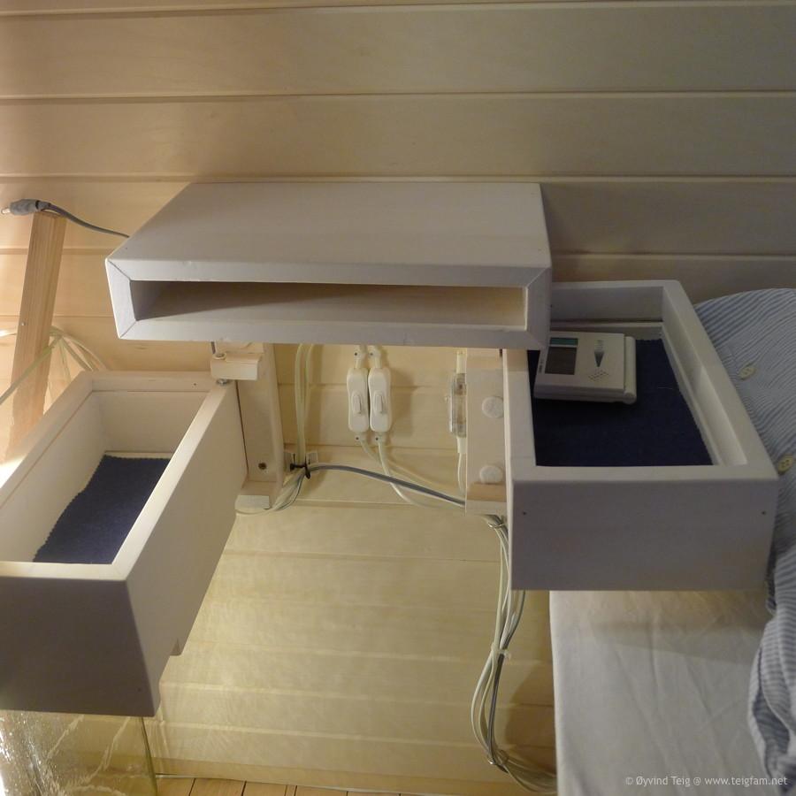 Chest of swingable drawers - 5