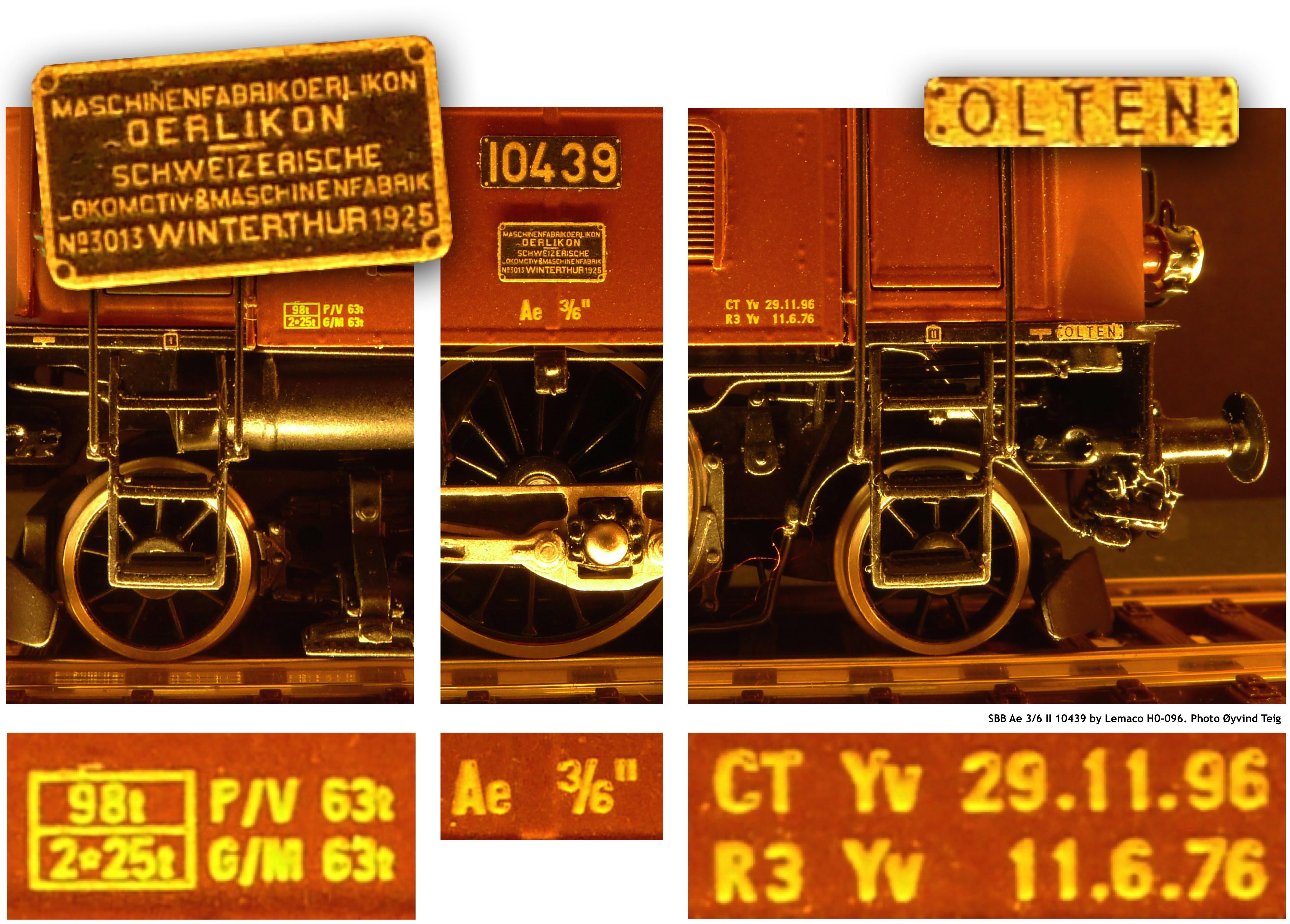 087 Fig9 Sbb Ae 3 6 Ii Ho 096 By Lemaco Photo 216 Yvind Teig