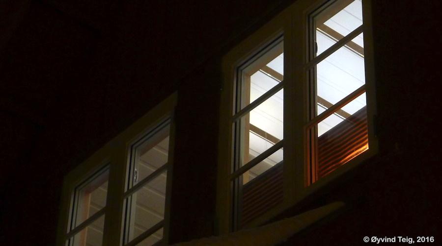 Roof floor LED list lamp