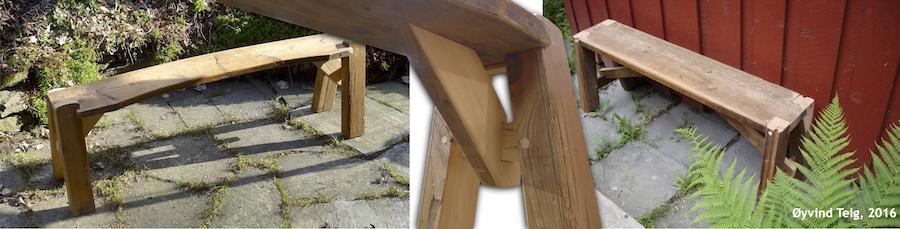 Gjenbruk av materialer fra vevstoler (1)