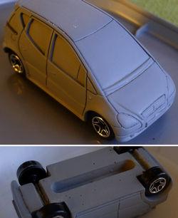 VOLKSWAGEN VW New Beetle 1998-1:43 CAR MODELLBAU DIECAST AUTO COLLECTION 52