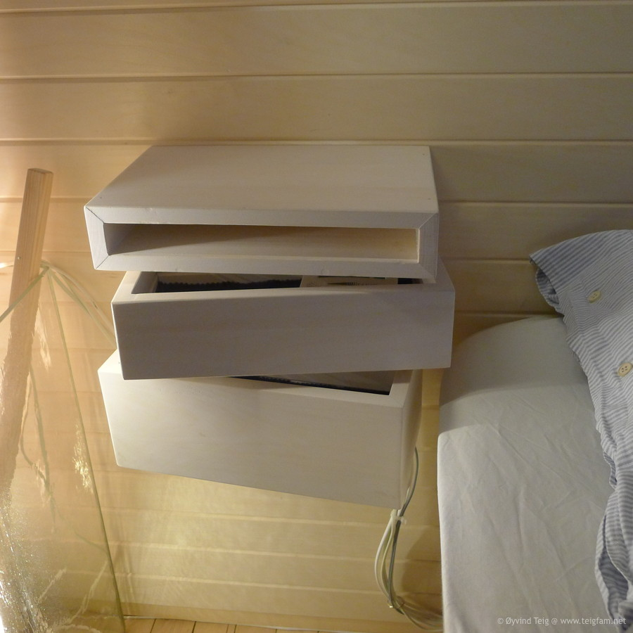 Chest of swingable drawers - 6