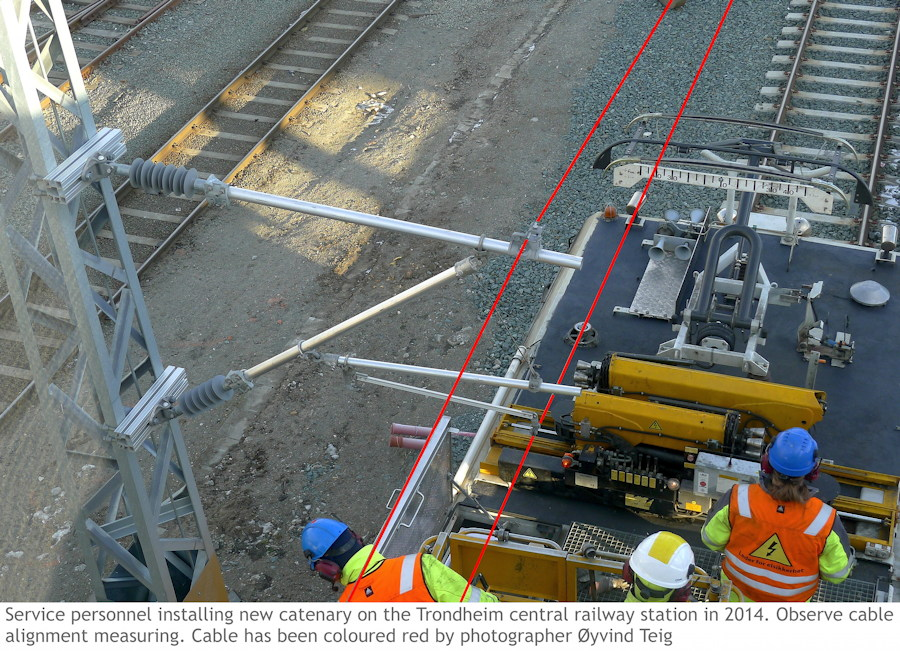 080 fig3 catenary adjustment Trondheim