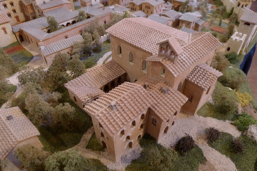 San Gimignano 1300 in May 2014 (Detail)