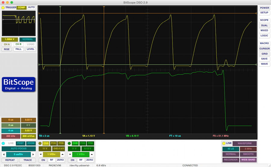 I2C without external pullups