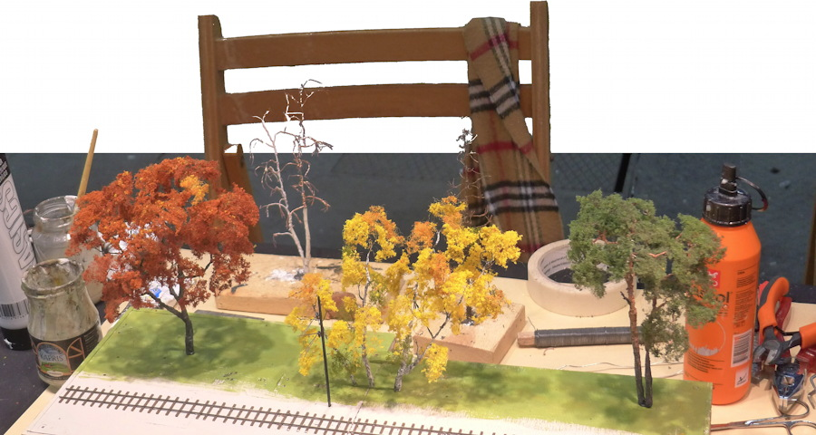 Model tree building at a fair